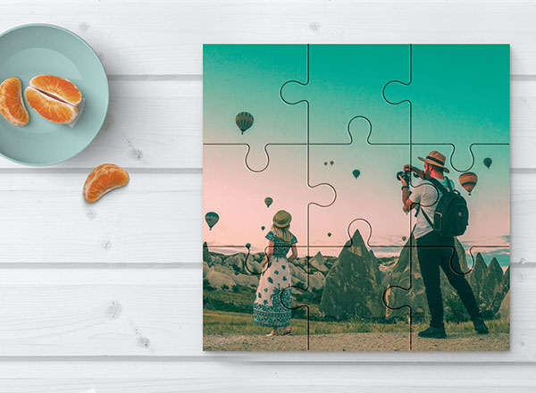 Personalised Jigsaw 9 Piece with your own photos and images